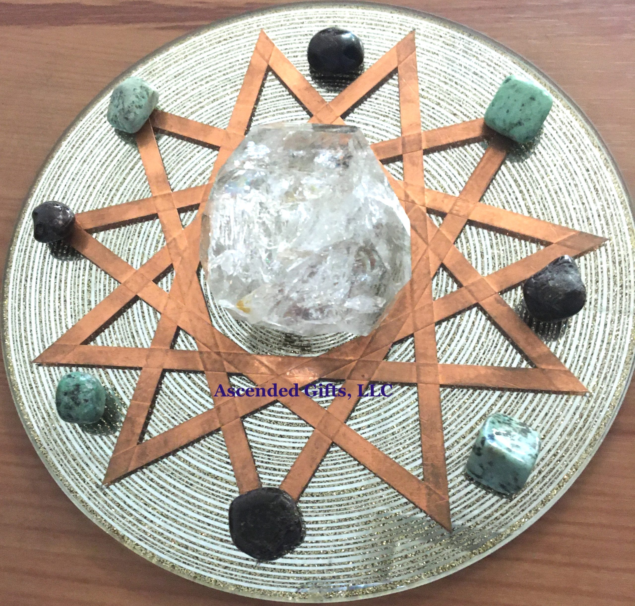 Monthly Crystal Grid Layout